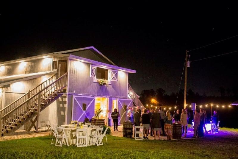 the-barn-wedding-venue-night